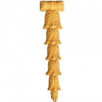KA685 - Holzornament für Möbel