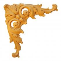 ESN155 - Ornement en bois pour meubles