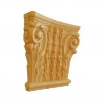 KA695 - Ornement en bois pour meubles