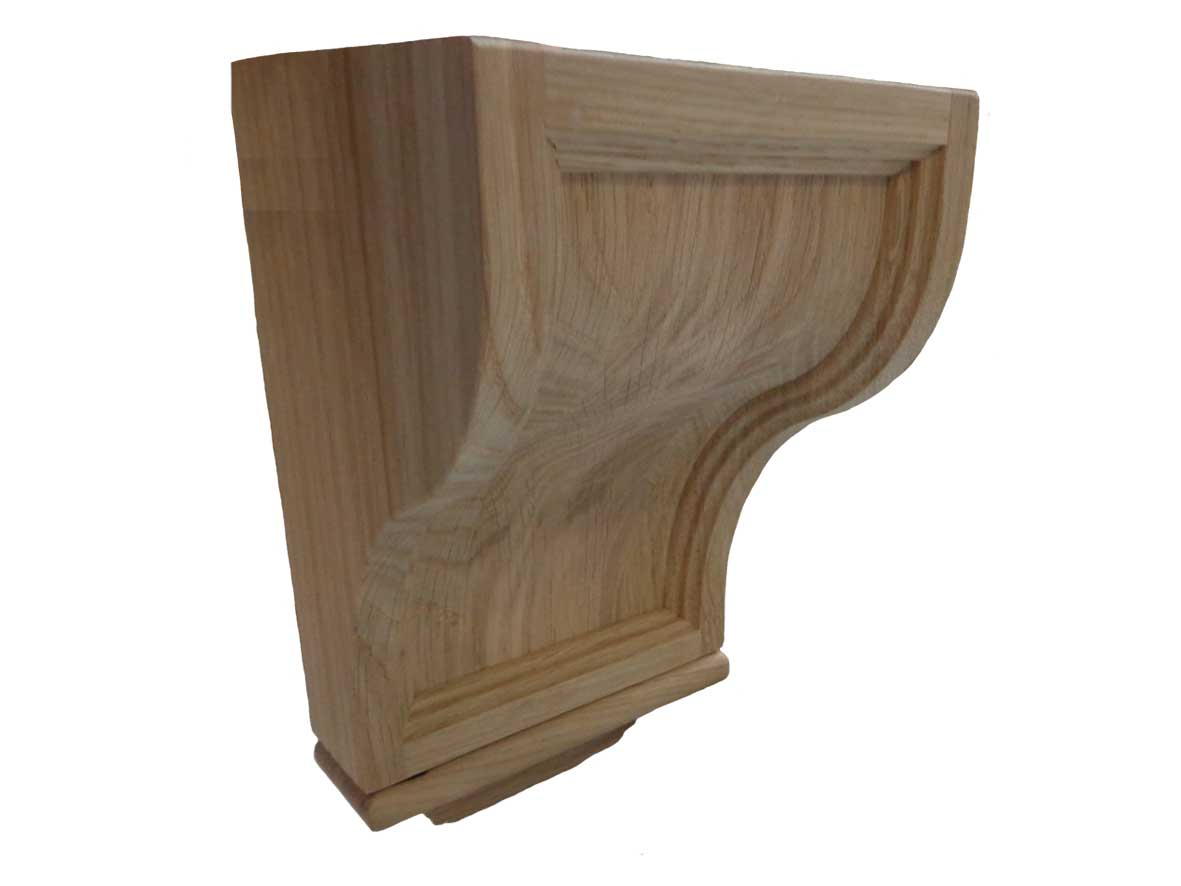 Corbel in solid oak