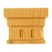 KA619 - Ornement en bois pour fenêtres