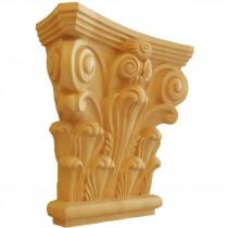 KA692 - Ornement en bois pour meubles