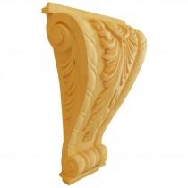 KA696 - Ornement en bois pour meubles